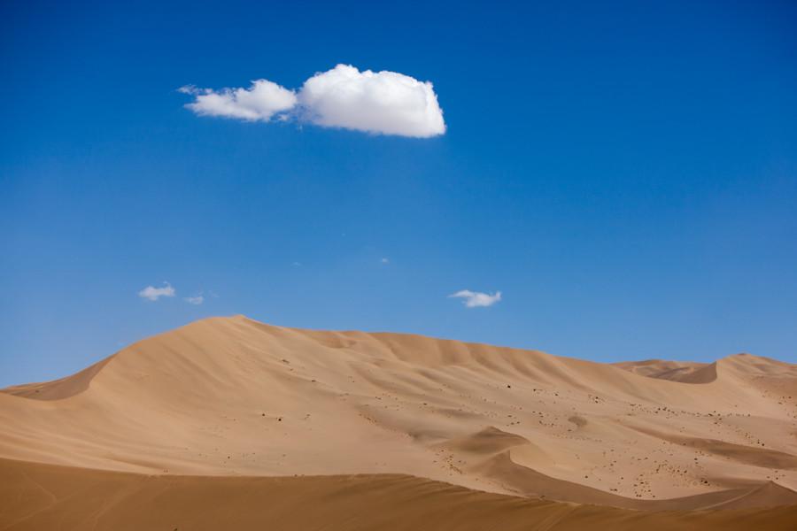 盛夏的敦煌 沙漠